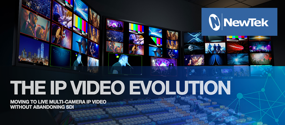 IP for professional video and broadcast industries