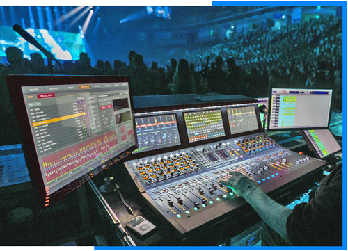 Audio studio integration and product sales