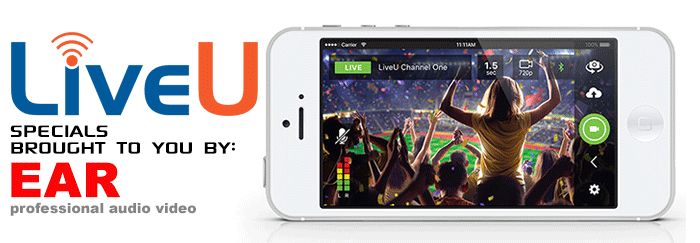 LiveU specials Streaming Video Live