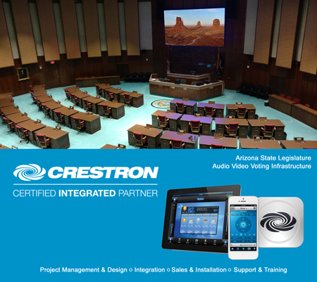 Crestron Control Government Legislature