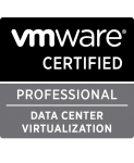 VMware data center certification logo