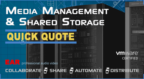 Quick Quote media asset management and shared storage calculator