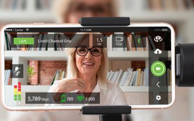 LiveU's LU-Smart mobile app