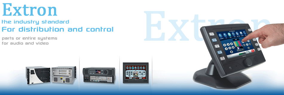 Commercial Audio and Video Control